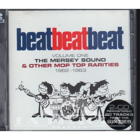 Various - Beat Beat Beat,Vol.1, The Mersey Sounds + Other Mop-Top Rarities