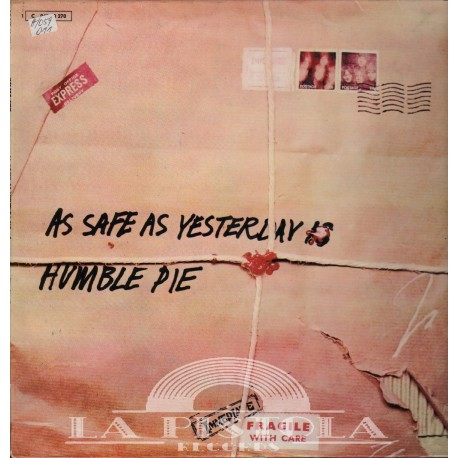 Humble Pie - As Save As Yersterday