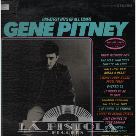 Gene Pitney - The Greatest Hits Of All Times