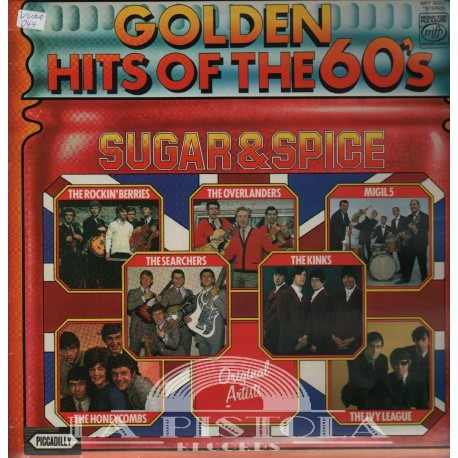 Various - Golden Hits Of The 60's - Sugar and Spice