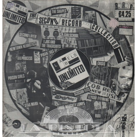 Various - Labels Unlimited - The second Record Collection