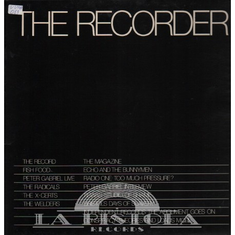 Various - The  Recorder