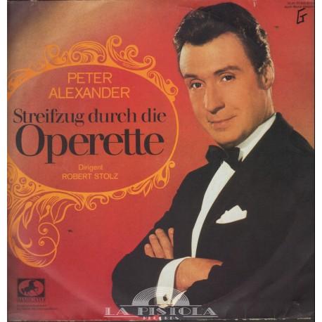 Peter Alexander - Streifzug durch die Operette
